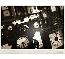 Following Time Photographic Print