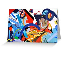 Abstract Interior #9 Greeting Card