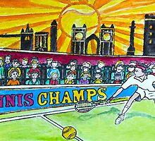 Tennis Champs by Monica Engeler