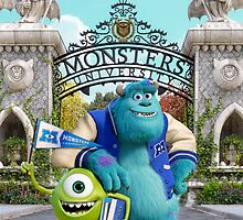 Monsters University by Britnasty