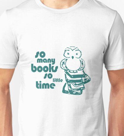 Book Owl Unisex T-Shirt