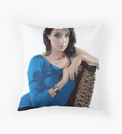 Courtney Braham Throw Pillow