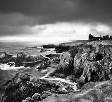 New Slains Castle by redtree