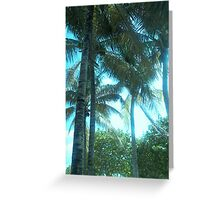Perfect Palms Greeting Card