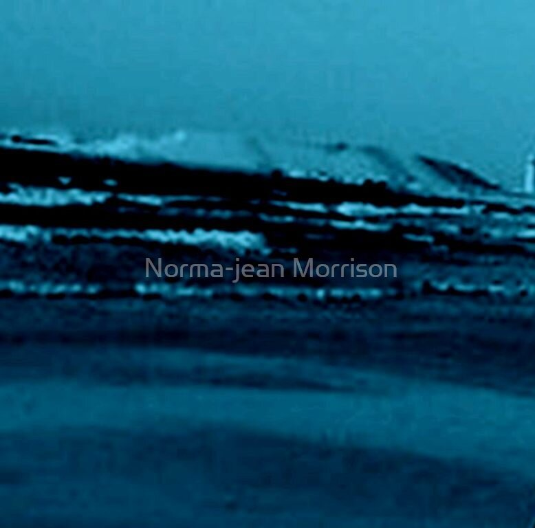 """The roaring sea"" by Norma-jean Morrison"