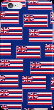 Smartphone Case - State Flag of Hawaii  - Blue by Mark Podger