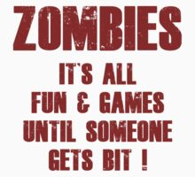 Zombies Fun And Games by BrightDesign