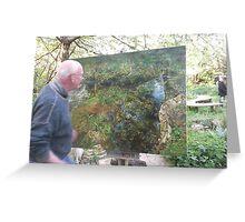 Art4Space/Painter: Geoff -(010513)- Digital Photo/FujiFilm FinePix AX350 Greeting Card