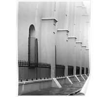 French Quarter Corridor Poster