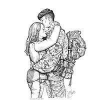 A Couples Embrace by jemmawright