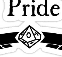 My Virtue is Pride Sticker