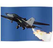 F-111 Light-em Up Poster