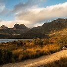 Dove Lake Lightshow by Mieke Boynton