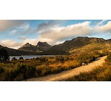 Dove Lake Lightshow Photographic Print