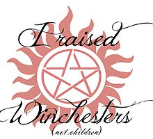 I Raised Winchesters (Not Children) by kittenofdeath