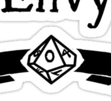 My Vice is Envy Sticker