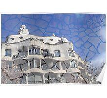 La Pedrera - Gaudí Poster
