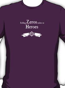 World of Darkness - Zero Hero - For Dark Shirts T-Shirt