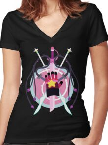 Weapons of Mass Gemstruction Women's Fitted V-Neck T-Shirt