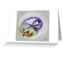 """Pansy"" Greeting Card"