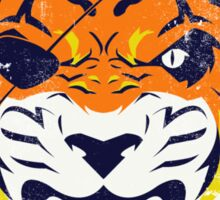 Rising Tiger Sticker
