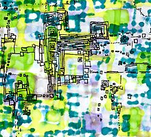 Pixel Factory by Regina Valluzzi