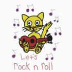 Let's rock n roll by Teresa Hulbert