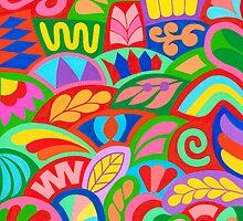 POTPOURRI COLOURS ARTWORK by RainbowArt