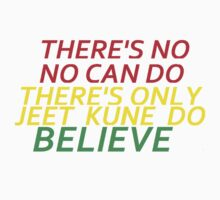 Believe in Yourself JKD Kids Tee