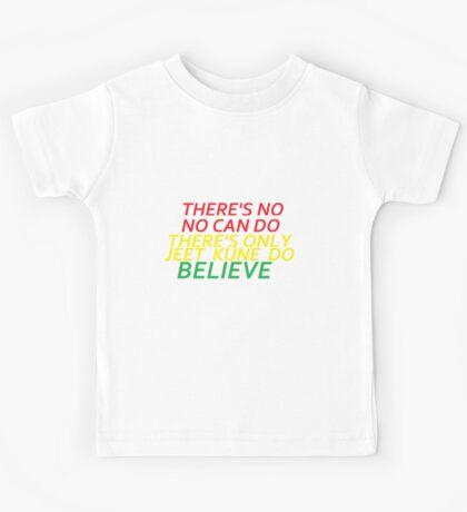 Believe in Yourself JKD Kids Tee