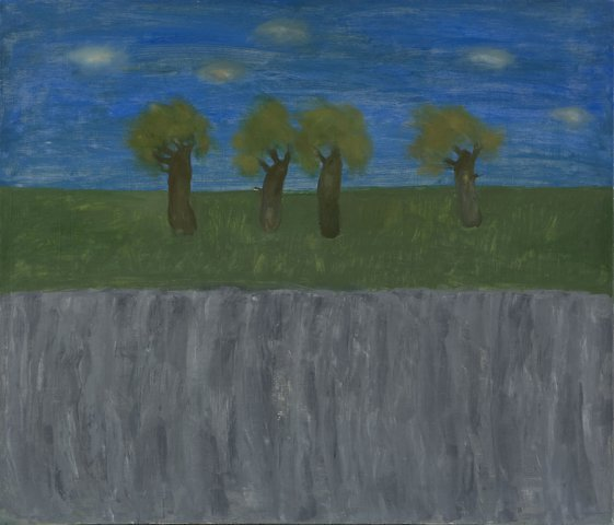 Simple landscape by sedovvictor