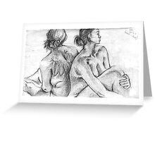 Rachel and Sarah Greeting Card