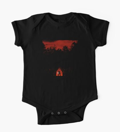 Evil in the woods One Piece - Short Sleeve