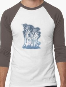 Evil woods At Night Men's Baseball ¾ T-Shirt