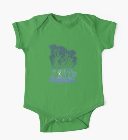Evil woods At Night One Piece - Short Sleeve
