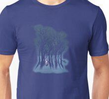 Evil woods At Night Unisex T-Shirt
