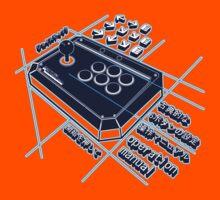 Japanese Arcade Joystick by GeekGamer