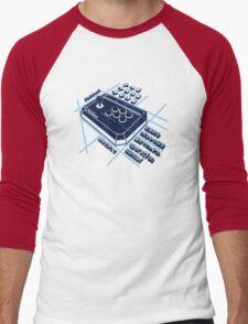 Japanese Arcade Joystick Men's Baseball ¾ T-Shirt