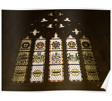 Exeter Cathedral window Poster