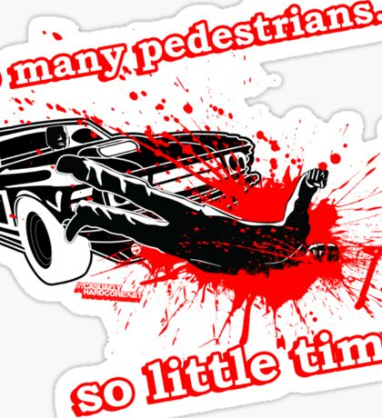 Car-mageddon Sticker