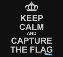 Keep Calm and Capture The Flag One Piece - Short Sleeve