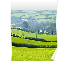 Quilt of Fields Poster