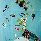 Collage Portrait 1 by Gabriele M - emmarts