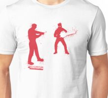 Chainsaw Zombie Unisex T-Shirt