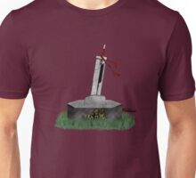 Cloud Sword In The Stone Unisex T-Shirt