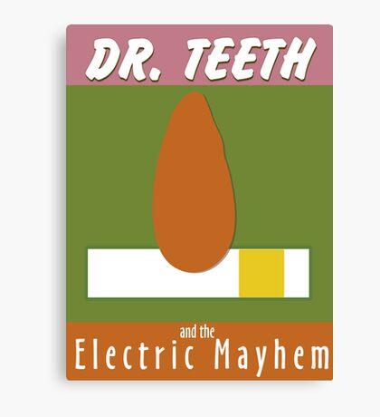 Dr. Teeth & the Electric Mayhem Canvas Print