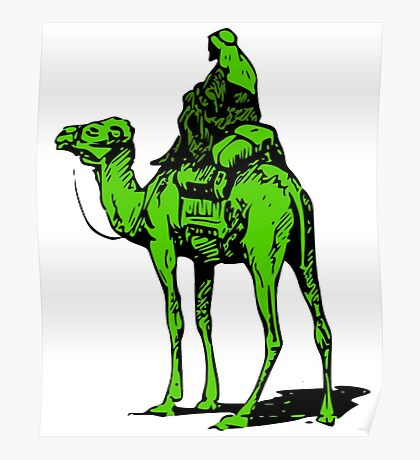 The Silk Road camel Poster