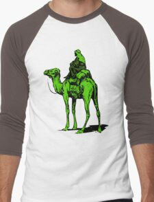 The Silk Road camel Men's Baseball ¾ T-Shirt