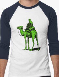 The Silk Road camel Men's Baseball ¾ T-Shirt
