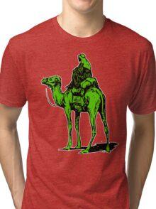 The Silk Road camel Tri-blend T-Shirt